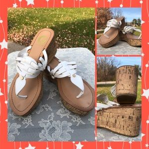 Guess Leather Wedges ! Great Condition! Size 7.5
